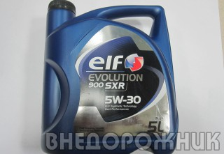 Масло моторное ELF EVOLUTION SXR  5W30 (синт.) 5л.
