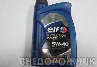 Масло моторное ELF EXCELLIUM/EVOLUTION NF  5W40 (синт.) 1л.