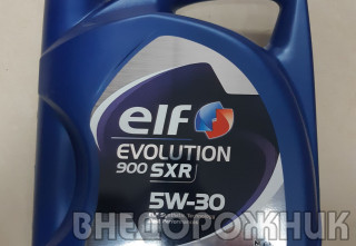 Масло моторное ELF EVOLUTION SXR  5W30 (синт.) 4л.